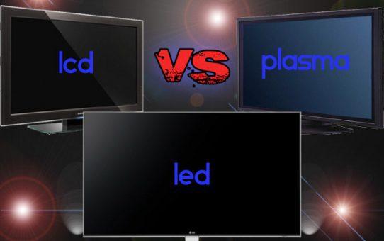 lcd vs plasma vs led
