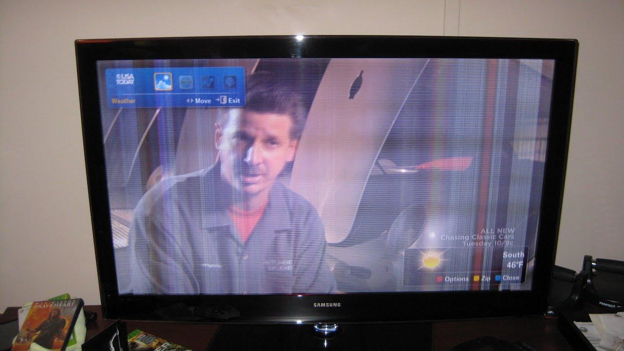 tv display problem